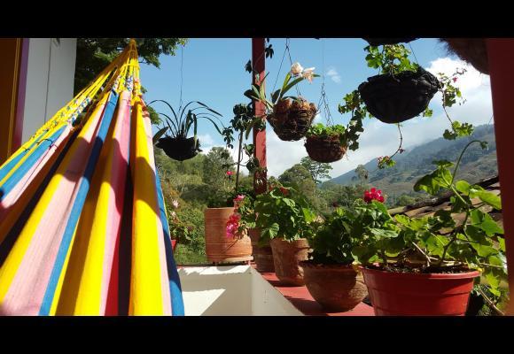 hospedaje o hostel en la region cafetera Buenavista Pijao Quindío